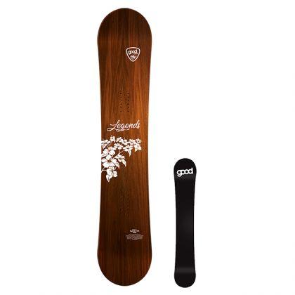 goodboards Legends Freeride Board mit Camber 2021