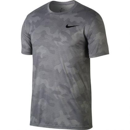 Nike Dry Legend Camo Shirt Grau
