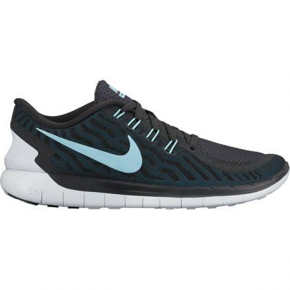 newest 49ed7 68406 Zoom Nike Free 5.0 Damenschuh Schwarz-Blau