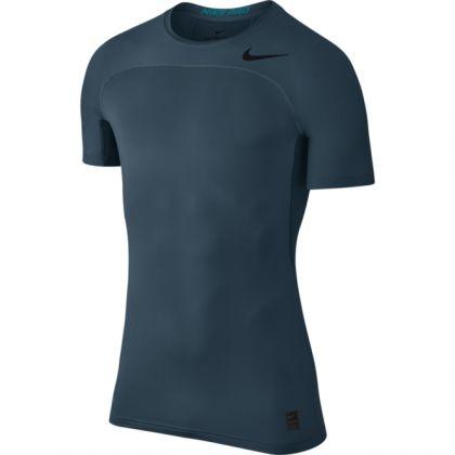 Nike Pro Hypercool Herren Top Blau