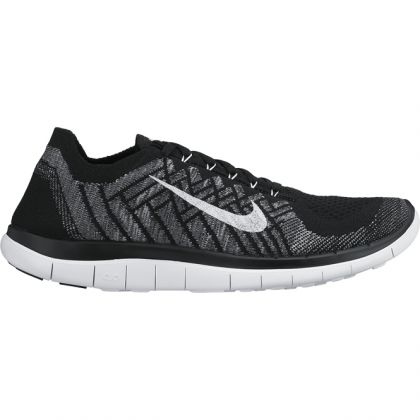 nike free 4 0 flyknit schwarz herren laufschuh trends sport. Black Bedroom Furniture Sets. Home Design Ideas