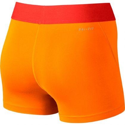 Nike Pro 3 Cool Shorts Damen Orange