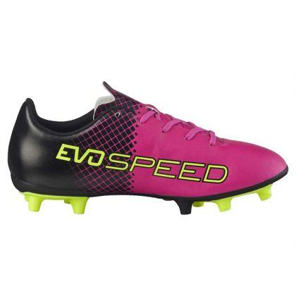 puma evospeed kinder pink