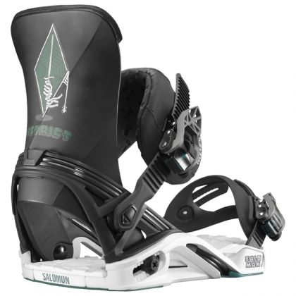 Salomon District Snowboard Bindung für Herren Schwarz