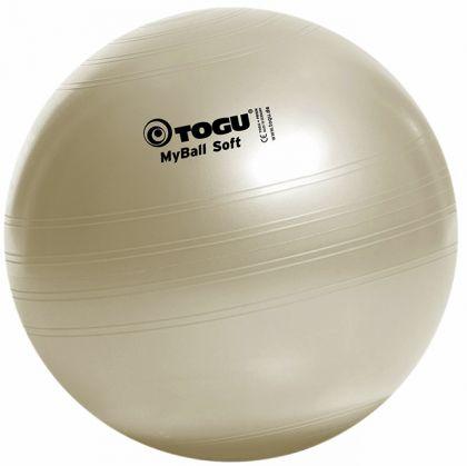 TOGU MyBall SOFT Gymnastikball Perl-Weiss | 55cm - 65cm - 75cm