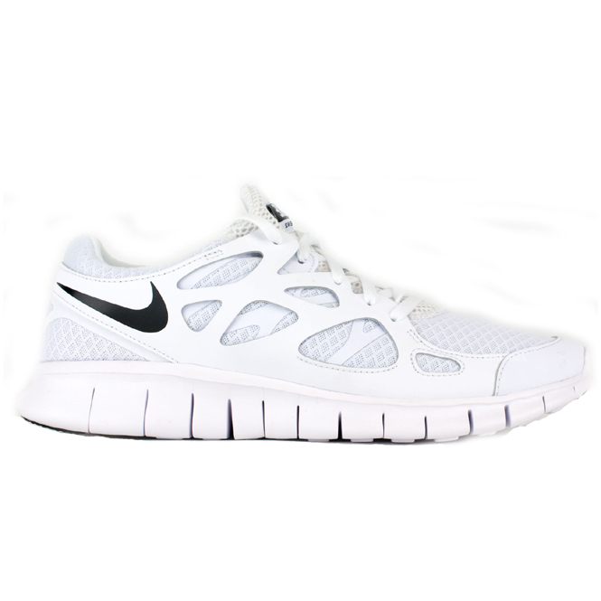 nike free run 2 nsw herrenschuh weiss trends sport. Black Bedroom Furniture Sets. Home Design Ideas