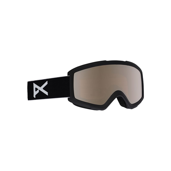 Anon Helix 2.0 Goggles in Spare-Black/Silver-Amber