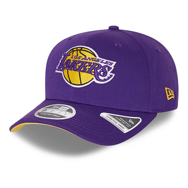 New Era Snapback 9FIFTY Stretch Snap LA Lakers - Lila
