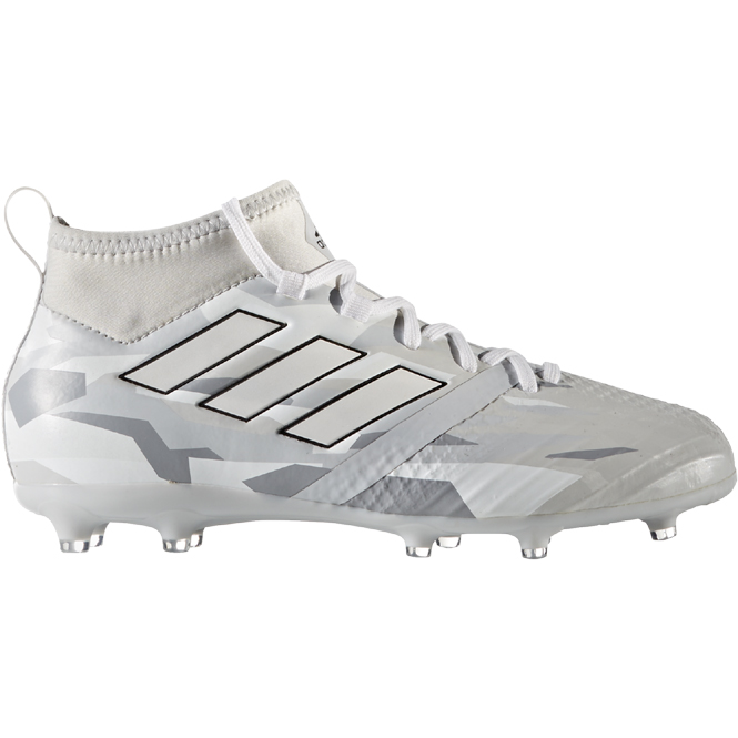 Adidas Ace 17.1 FG J Grau-Weiss