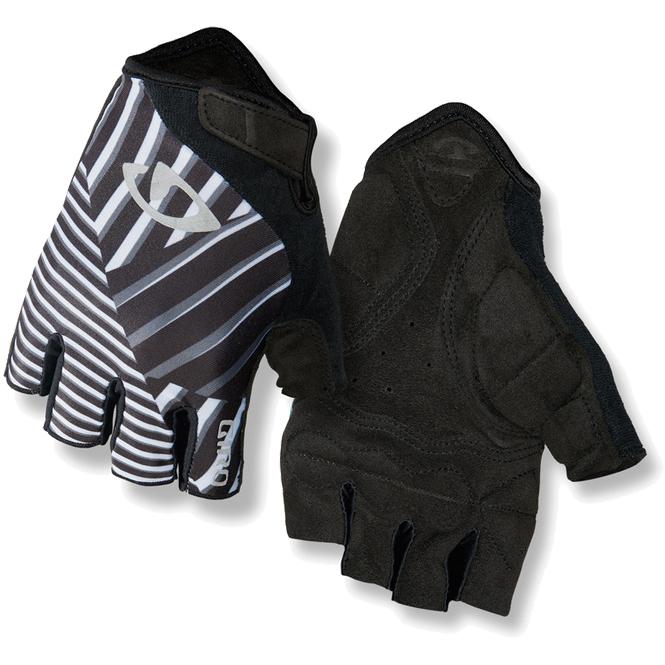 Giro Jag Fahrrad Handschuhe Schwarz Reflect