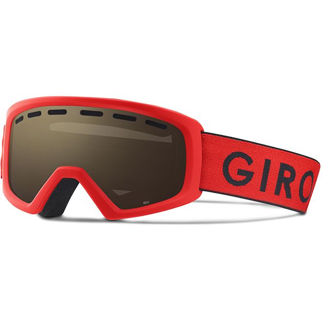 Giro Rev Kinder Brille Rot-Schwarz 2018