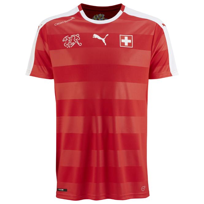 Schweiz EM Trikot 2016 Heimtrikot