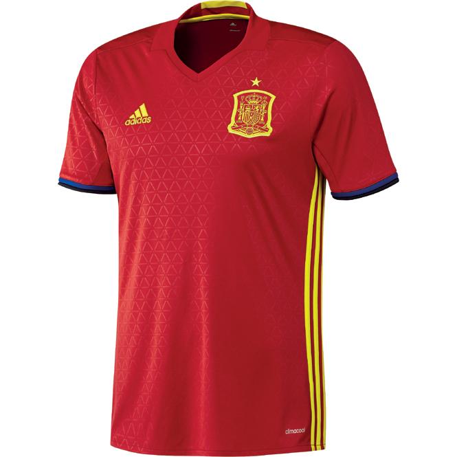 Spanien EM Trikot 2016 Heimtrikot