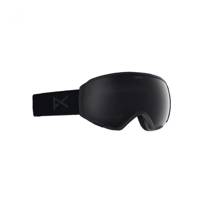 Anon WM1 Goggles für Damen + Ersatzbrillenglas schwarz