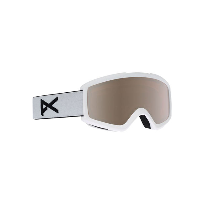 Anon Helix 2.0 Goggles in Spare-White/Silver-Amber