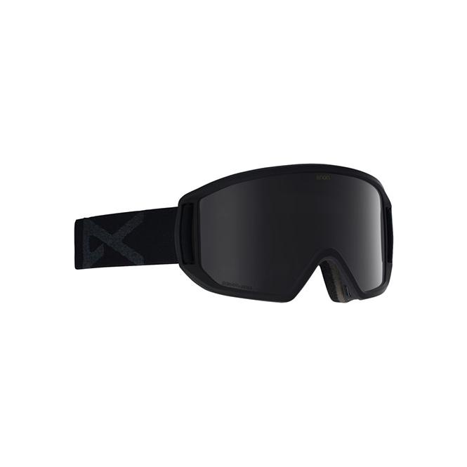 Anon Relapse Goggles in Black/Sonarsilver