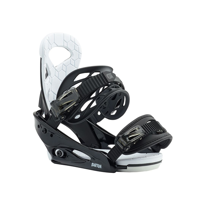 Burton Smalls Snowboardbindung Schwarz 2019
