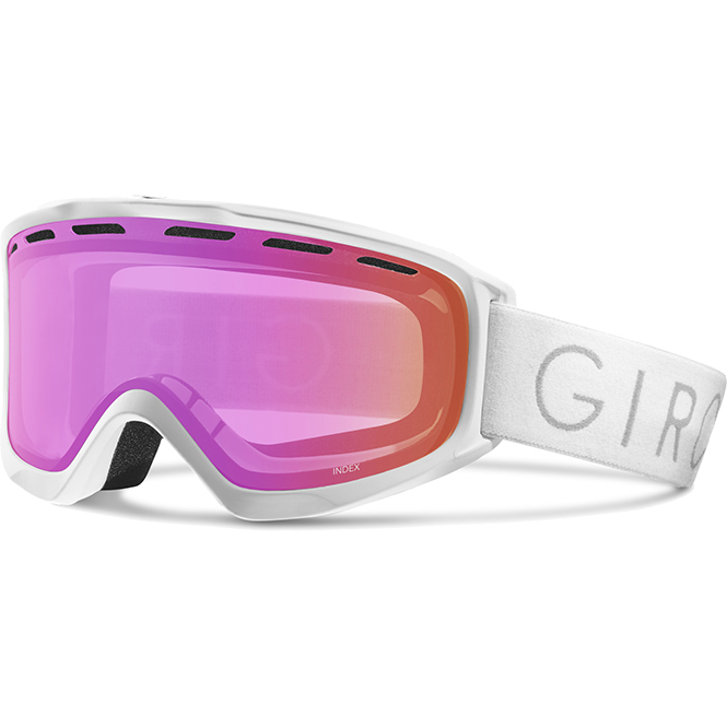 Giro Index Brille Weiß-Pink 2018
