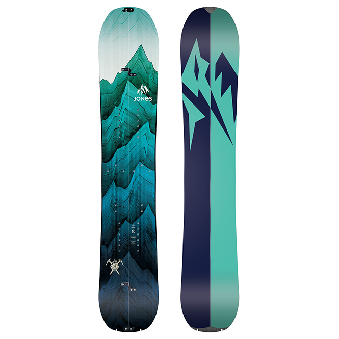 Jones Solution Splitboard 2019 Damen