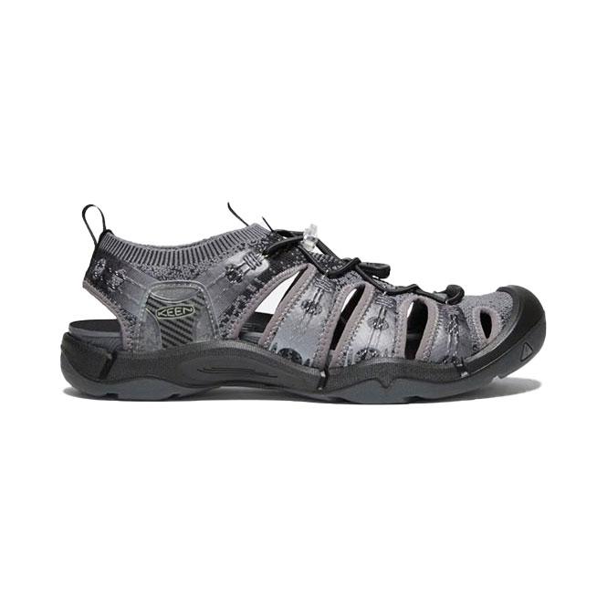 Keen Evofit 1 Sandalen Herren - grau schwarz