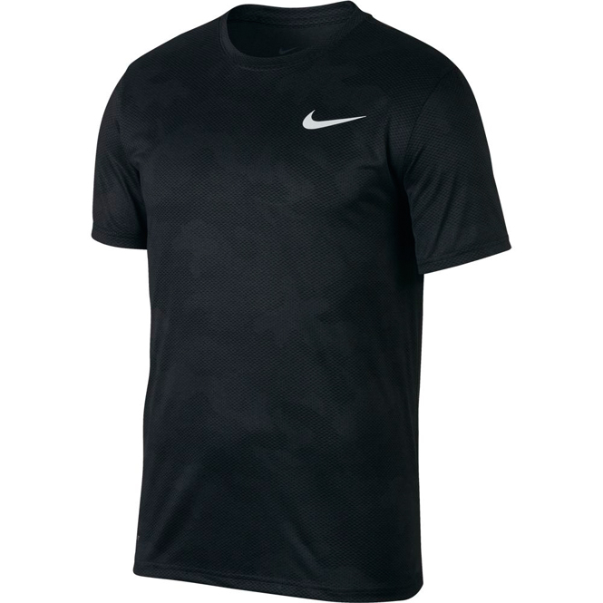 Nike Dry Legend Camo Shirt Schwarz