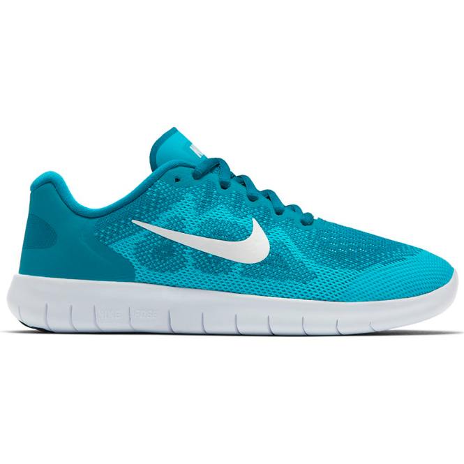 Nike Free RN 2017 GS Petrolblau