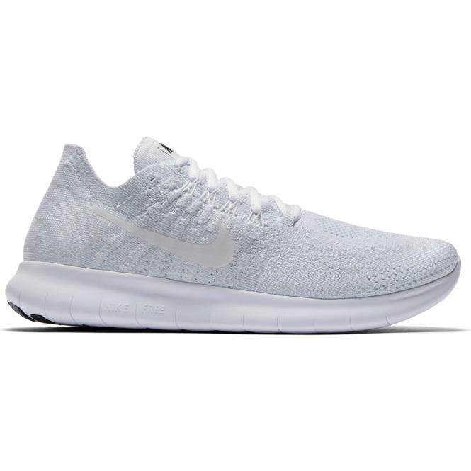 Nike Free RN Flyknit 2017 Weiß Damen