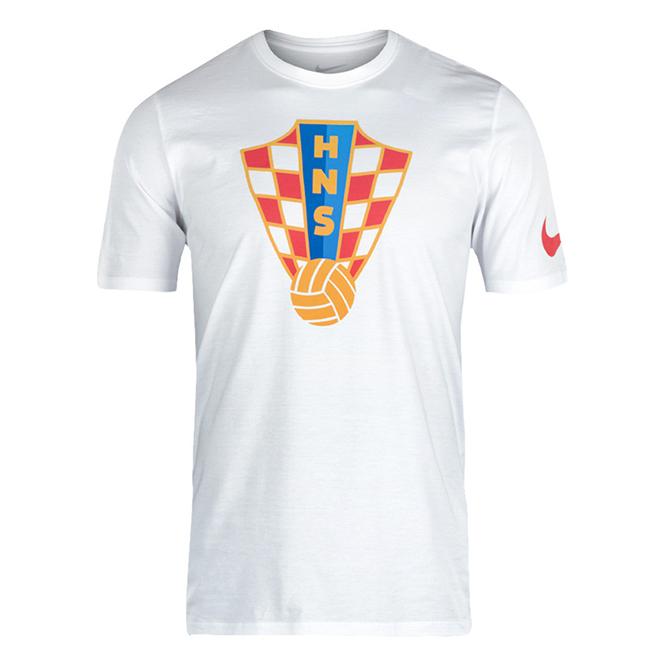 NIKE Kinder Kroatien Croatia Fan t-shirt mit HNS Wappen