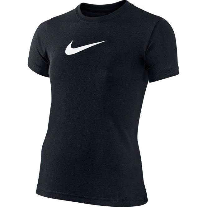 Nike Legend Girls Trainings-Shirt Schwarz