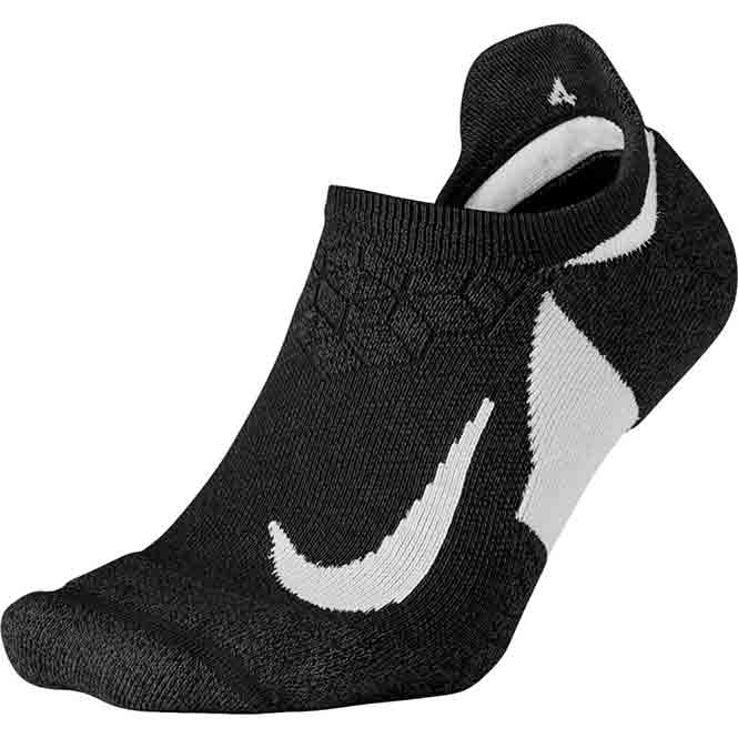 Nike Dry Elite Cushioned No-Show Lauf Socken
