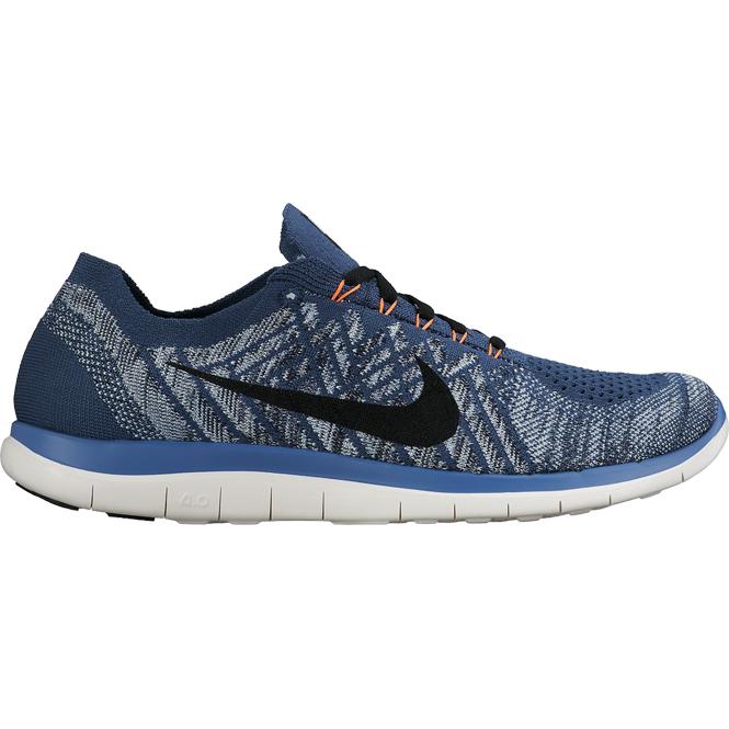 Nike Free Flyknit 4.0 Laufschuhe Herren Blau/Grün