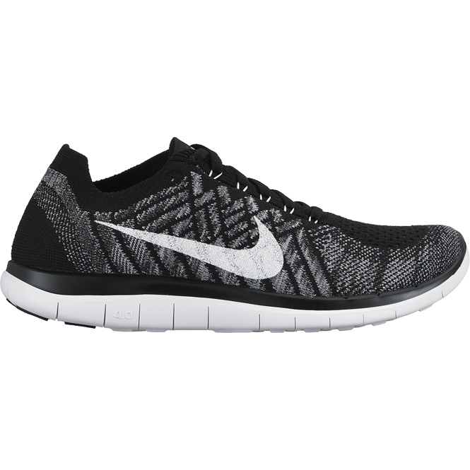 nike free 4 0 flyknit schwarz wmns laufschuh trends sport. Black Bedroom Furniture Sets. Home Design Ideas
