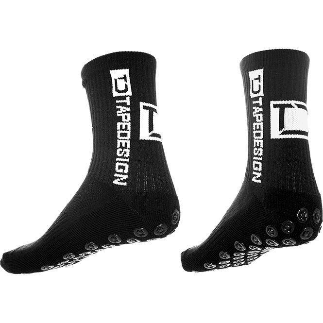 Tapedesign Socken Classic Schwarz