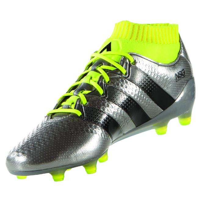new style 8cd54 31ce4 Adidas Ace 16.1 Primeknit FG Silber-Gelb