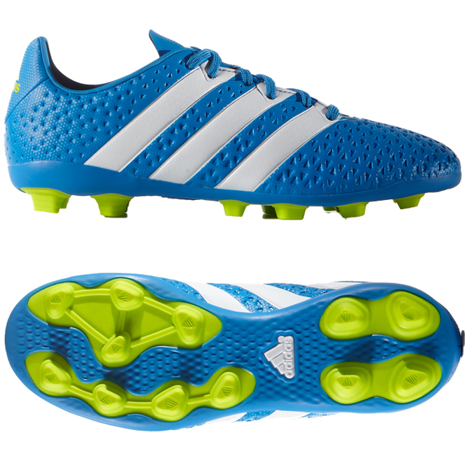 Adidas ACE 16.4 FxG J Fußballschuhe Kinder, schwarzgold