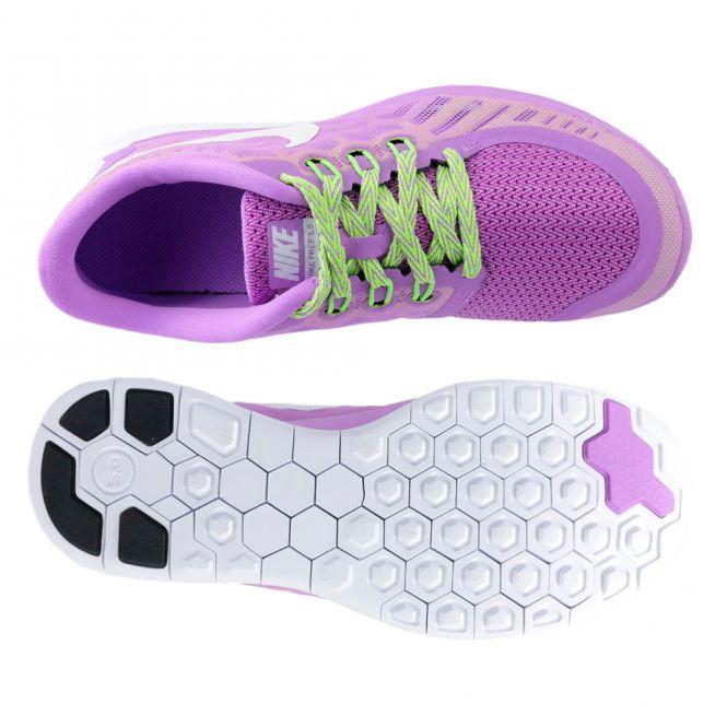 Nike Free 5.0 GS Kinderschuh Lila | Trends Sport