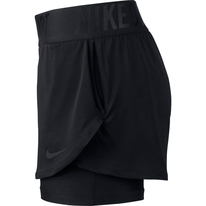 Nike Wmns Court Dry Ace Tennis Shorts Schwarz | Trends Sport