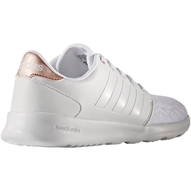adidas damen cloudfoam qt racer sneakers weiß