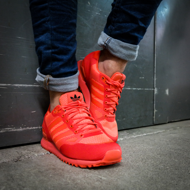 127cdccdb4fba6 Adidas ZX 750 WV Rot Sneaker