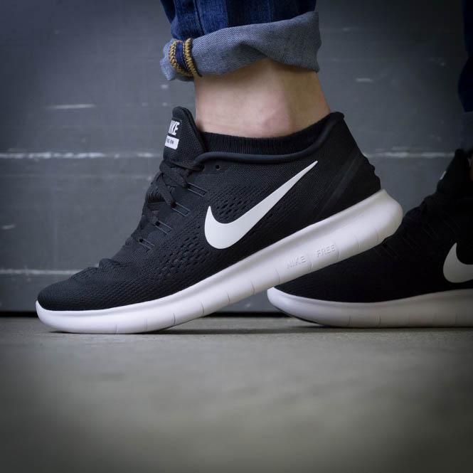 sneakers for cheap cebc6 b4732 Nike Free RN Schwarz Herren Laufschuh