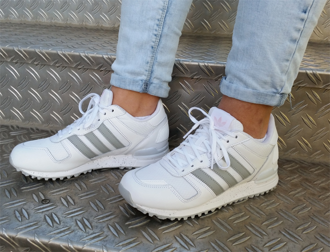 adidas zx 700 w sneaker weiss grau pink trends sport. Black Bedroom Furniture Sets. Home Design Ideas
