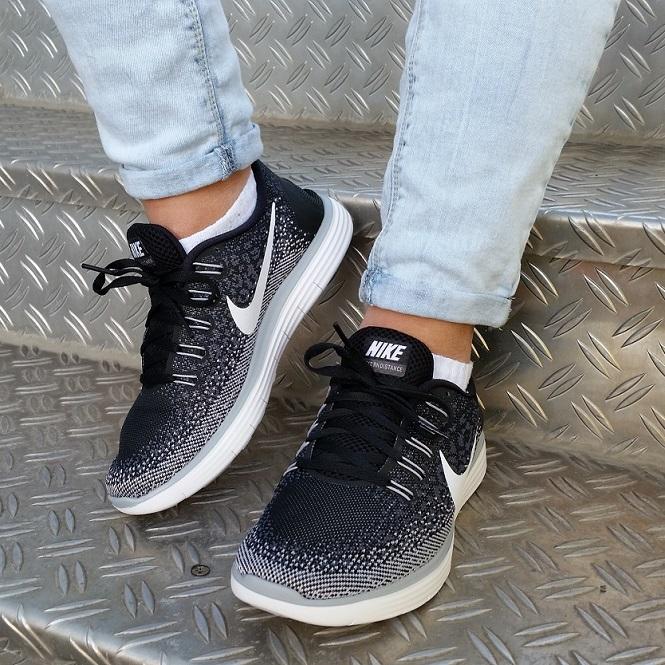 Nike Free RN Distance Damen Schwarz Weiss | Trends Sport